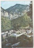 Bnk cp Baile Herculane - Vedere generala spre Domogled - circulata, Printata