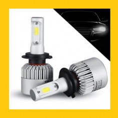 Kit Becuri LED H7 36W, 3800LM