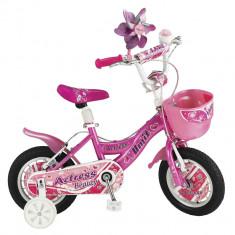 """Bicicleta Copii Umit Actress , Culoare Roz, Roata 12"""", Cadru OtelPB Cod:1264000000"""
