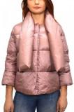 Geaca dama, din poliester, marca Geox, W7425J-M8-06, roz