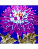 Batic dama matase silk touch cu flori