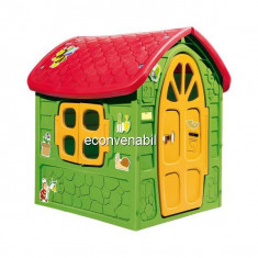 Casuta de joaca pentru Copii 120x113x111cm model Verde