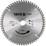 Disc circular lemn 180 x 20 x 2.2 mm 60 dinti Yato YT-60907