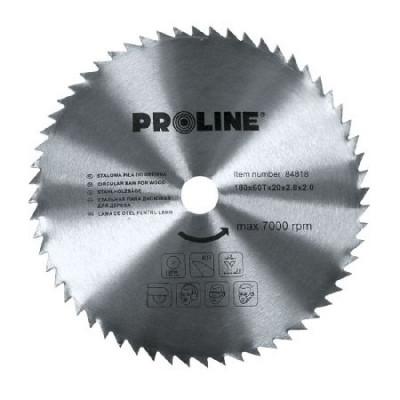 Disc circular Proline, pentru lemn, 180 mm/60 D foto