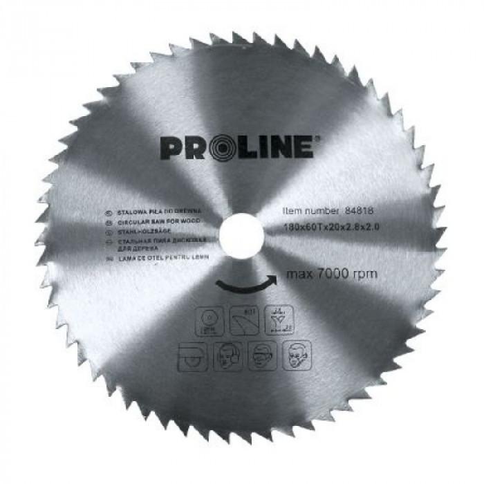 Disc circular Proline, pentru lemn, 180 mm/60 D