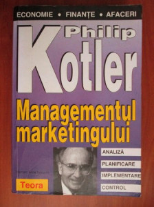 Philip Kotler - Managementul marketingului