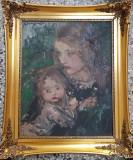 Aurel Naray, Portrete, Ulei, Impresionism