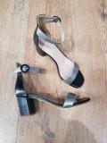 LICHIDARE STOC!Superbe sandale dama noi piele naturala integral foarte comode 37