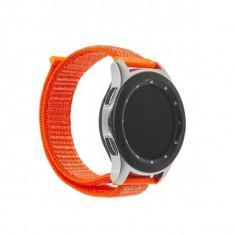 Curea nylon Samsung Gear, Galaxy Watch bratara ceas, 20mm, roz
