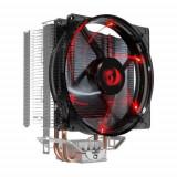 Cooler CPU Redragon Reaver, iluminare rosie, 120mm