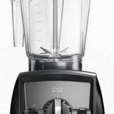 Blender Vitamix A2500i Ascent, 1400 W, 2 l, Self-Detect Technology, 3 programe prestabilite, Conectare wireless, Timer digital (Negru)