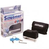 Lacat disc cu alarma Screamer - Crom