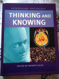 Bridget Giles (Ed.), INTRODUCING PSYCHOLOGY: THINKING AND KNOWING