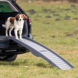 Rampă rabatabilă din plastic pentru câini, 39 x 150 cm