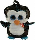 Rucsac cu paiete pinguinul Waddles - plus Ty