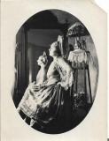 B1856 Femeie tanara eleganta Banat perioada austro-ungara