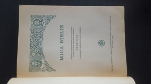 Mica Biblie. 1998