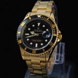 Cumpara ieftin Ceas ROLEX SUBMARINER Gold&Black 110grame CALITATE 1 REDUS SUPERB POZE REALE