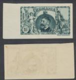 1927 ROMANIA Cincantenarul Independentiei Ferdinand eseu nuanta neemisa MNH