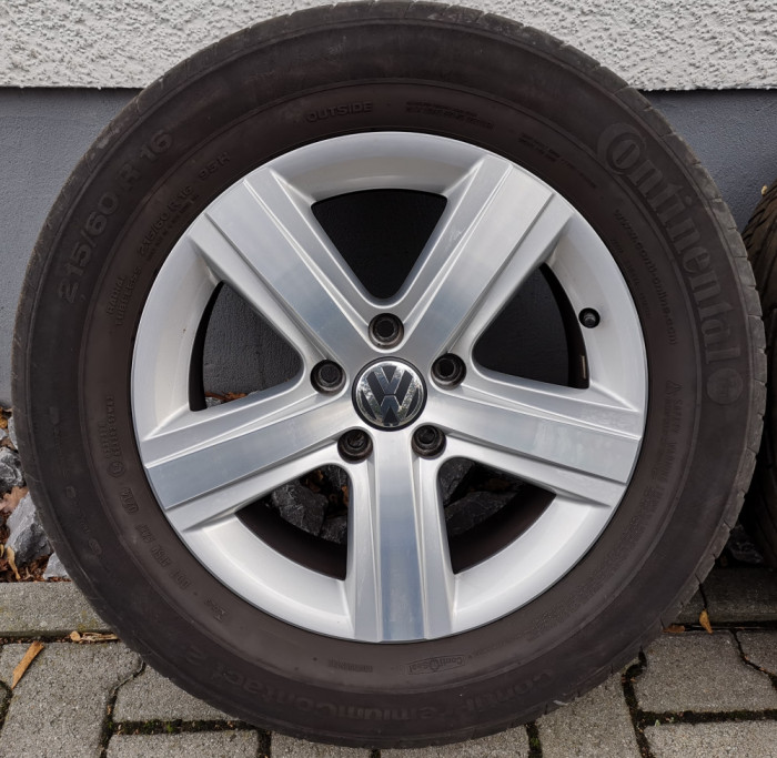 Roti/Jante VW 5x112, 215/60 R16, Sharan, Touran, Golf, Passat, Seat