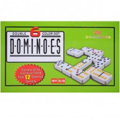 Domino, 28 piese, din plastic