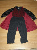 costum carnaval serbare vampir dracula pentru adulti marime M-L