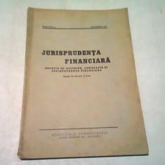 JURISPRUDENTA FINANCIARA NR.2/SEPTEMBRIE 1937