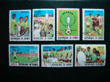 GUINEEA 1979 SERIE FOTBAL, Stampilat