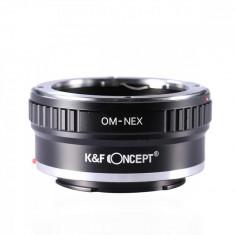 K&F Concept OM-NEX adaptor montura Olympus OM la Sony E-Mount (NEX) KF06.072