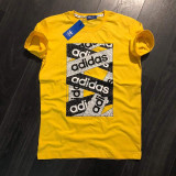 Cumpara ieftin Tricou Barbati Adidas Marimi: S , L , XL , XXL - Lichidare stoc!!, Galben