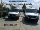 Transport pesoane si colete si marfa Romania-Austria-Germania-Belgia-Olanda