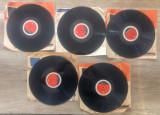 Lot 5 placi gramofon Electrecord// contin muzica romaneasca
