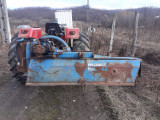 Freză agricolă OMMAS, latime 1.80 m cu palpator pentru livezi vie și arabil,, Micul Fermier