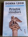 PRINTRE RANDURI DONNA LEON