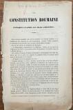 carte vehe Ion Heliade Radulescu La constitution Roumaine expliquee 1850