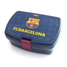 Cutie pentru sandwich FC Barcelona albastru