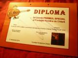 Diploma Premiul Special - Fundatia Romana de Chitara- Festival Internat.2019