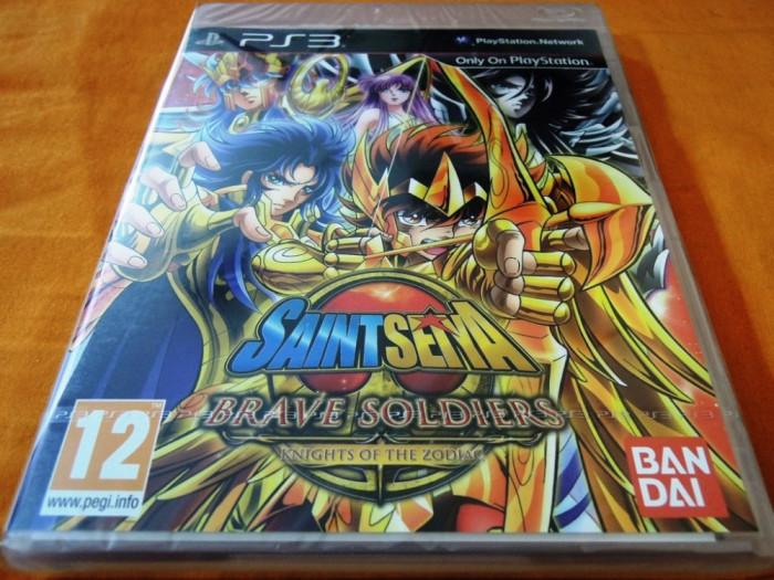 Saint Seiya Brave Soldiers, PS3, original și sigilat, alte sute de titluri