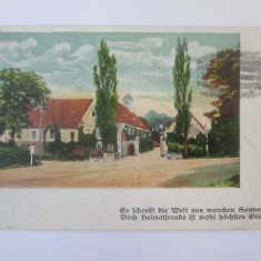 Rara! Șercaia(Brasov),carte postala circulata 1923 cu stampila postala Șercaia