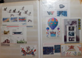 #3 Clasor cu timbre straine in toate conditiile - stampilate si nestampilate