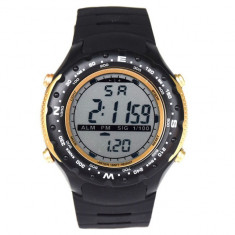 Ceas sport digital DESERT WARRIOR,design italian, curea silicon, data, alarma...