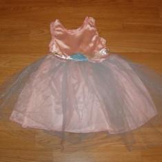 costum carnaval serbare rochie gala printesa pentru copii de 4-5-6 ani