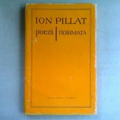 POEZII - ION PILLAT editie bilingva romana/greaca