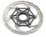 Rotor disc Avid CleanSweep X 185, Center Lock, spider Alu, suruburi Ti