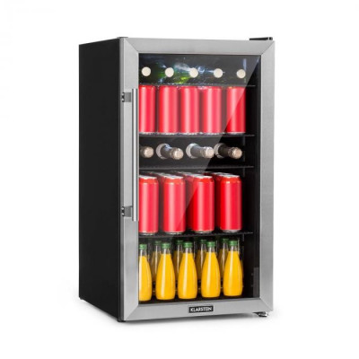 Klarstein Beersafe 3XL, frigider, 98 l, 4 rafturi, 7 nivele, negre foto