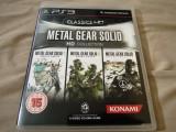 Metal Gear Solid HD Collection, Ps3, original, alte sute de titluri