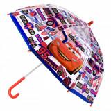 Umbrela pentru copii, model cars, 60 cm, multicolor