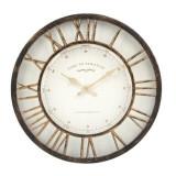 Cumpara ieftin Ceas decorativ de perete Vintage Bronze , 41 cm, Oem