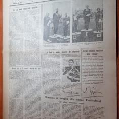 sportul popular 6 august 1953-intrecerile de natatie,,canotaj,gimnastica,haltere