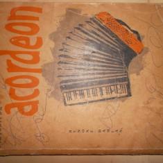 Metoda de acordeon /Benone Damian